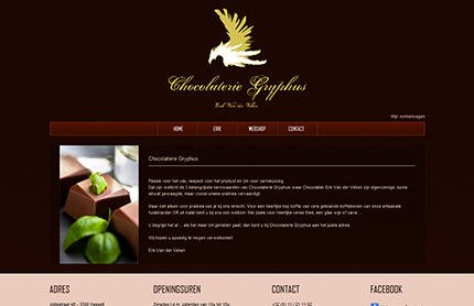 Creative WebVision - Chocolaterie Gryphus