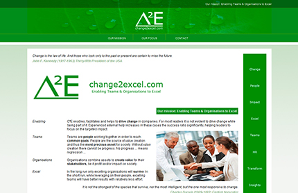 Creative WebVision - Change 2 Excel