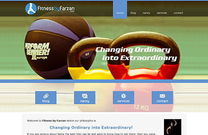 Creative WebVision - Fitness by Farzan