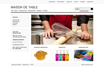 Creative WebVision - Maison de Table
