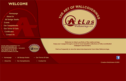 Creative WebVision - Atlas Wallcoverings