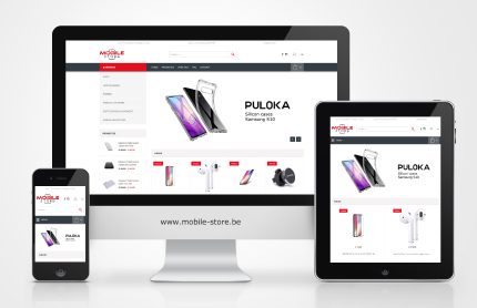 Creative WebVision - Mobile Store